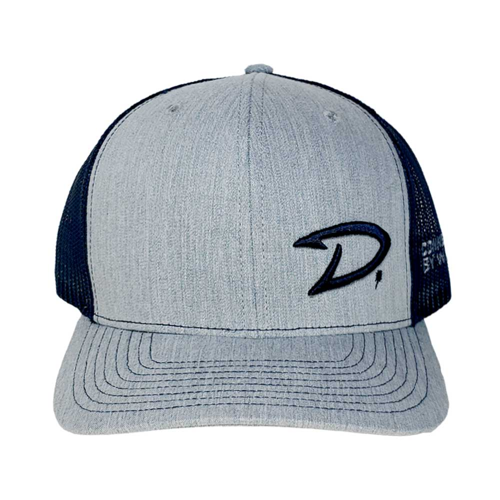D-Hook Hat (Heather Gray/Navy) by D.Friel - Connected by Water