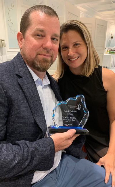 2019 Arts & Culture Award Awarded to Connected By Water