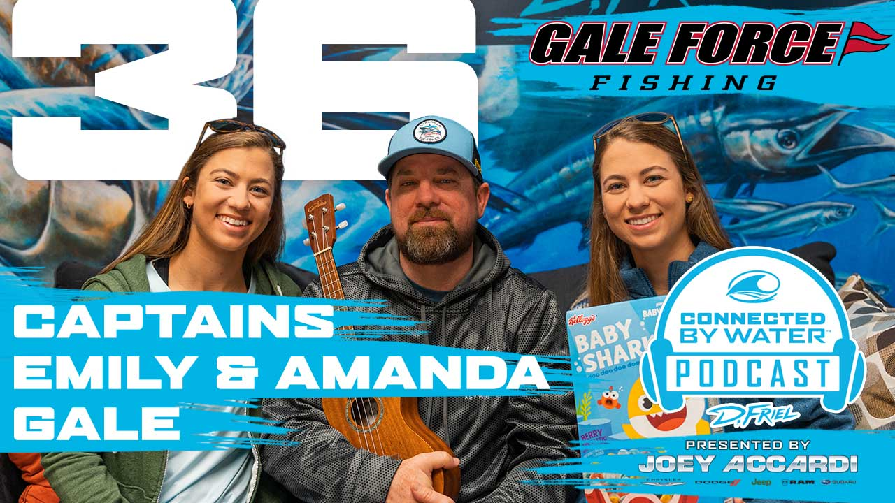 Gale Force Twins on Podcast #36 with Dennis Friel on Connected by Water