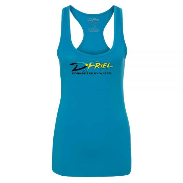 Bahamas Racerback Tank by D.Friel - Connected by Water
