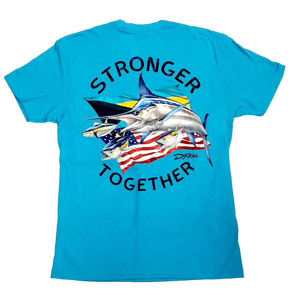 Stronger Together Tee by D.Friel - Connected by Water