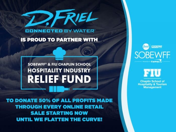 COVID-19 Fund by Connected by Water and SOBEWFF and FIU