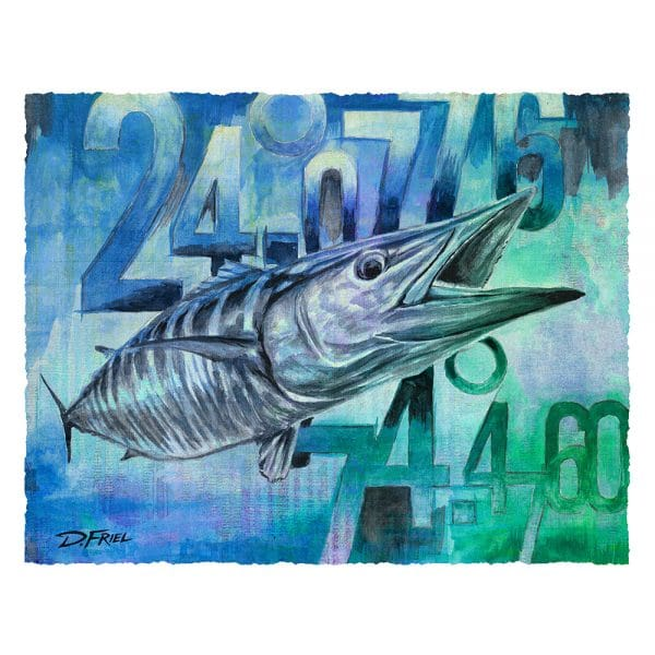 Coordinates Wahoo by D.Friel - Connected by Water
