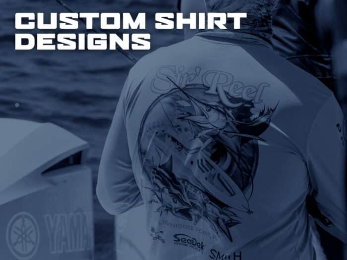 Custom Shirt Designs by D.Friel - Connected by Water