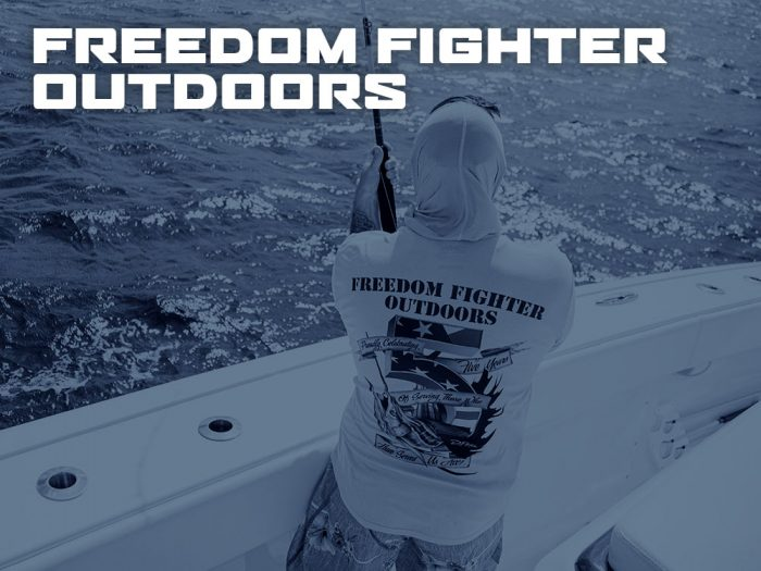 Freedom Fighter Outdoors by D.Friel - Connected by Water