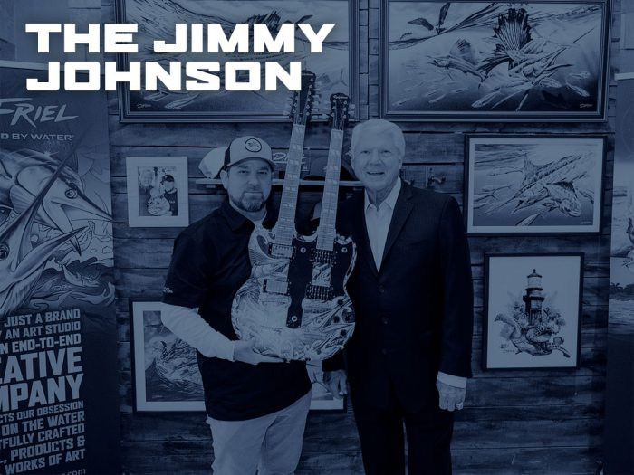 Jimmy Johnson Quest For The Ring by D.Friel - Connected by Water