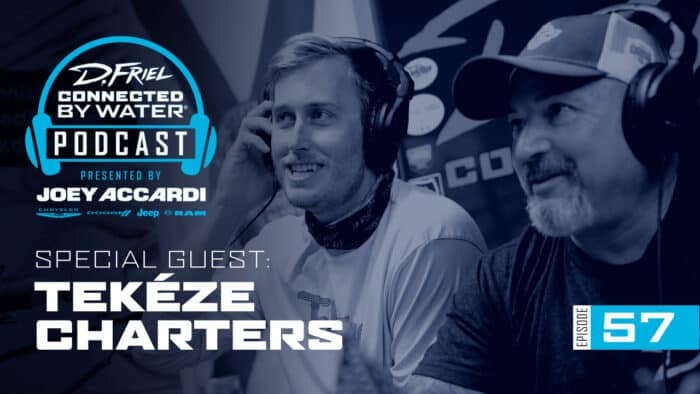 Connected By Water Podcast #57 - Tekéze Charters