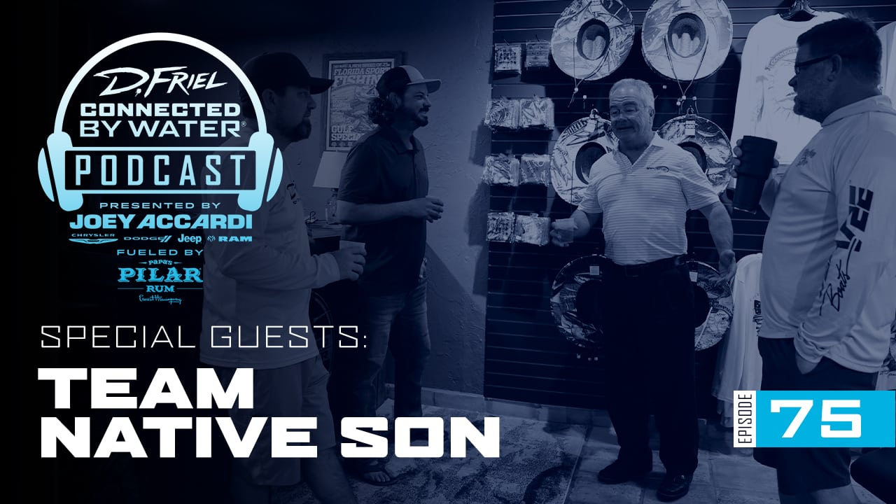 Connected By Water Podcast 75 Team Native Son