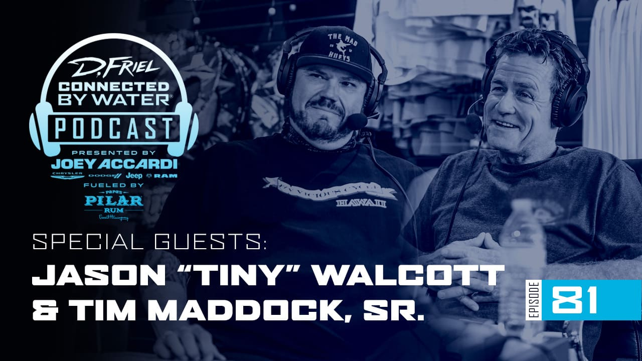 Tiny & Tim | Podcast 81 | Connected By Water